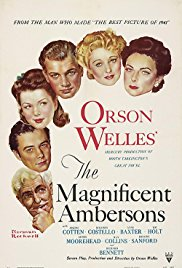 The Magnificent Ambersons 1942 Cover