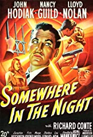 Somewhere in the Night 1946 Cover