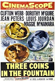 Three Coins in the Fountain 1954 Cover