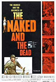 The Naked and the Dead 1958 Cover