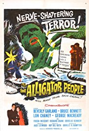 The Alligator People 1959 Cover
