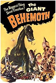 The Giant Behemoth 1959 Cover