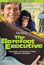 The Barefoot Executive 1971 Cover
