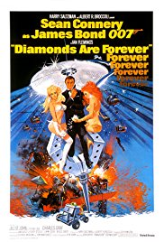 Diamonds Are Forever 1971 Cover