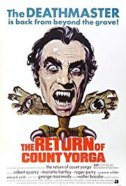 The Return of Count Yorga 1971 Cover