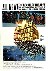 Conquest of the Planet of the Apes 1972 Cover
