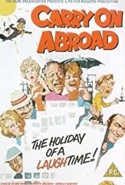 Carry on Abroad 1972 Cover