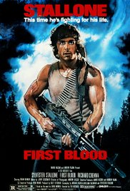 First Blood 1982 Cover