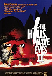 The Hills Have Eyes Part II 1984 Cover