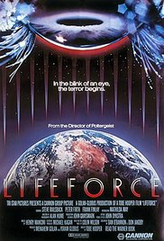 Lifeforce 1985 Cover