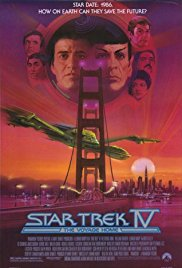 Star Trek IV: The Voyage Home 1986 Cover