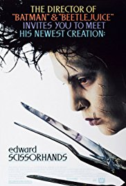 Edward Scissorhands 1990 Cover