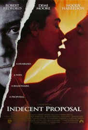 Indecent Proposal 1993 Cover
