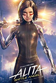 Alita: Battle Angel 2019 Cover