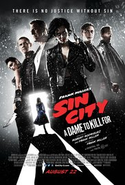 Sin City: A Dame to Kill For 2014 Cover