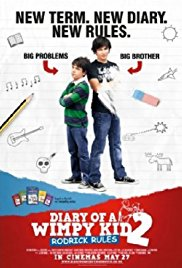Diary of a Wimpy Kid: Rodrick Rules 2011 Cover