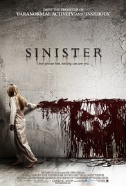 Sinister 2012 Cover