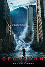 Geostorm 2017 Cover