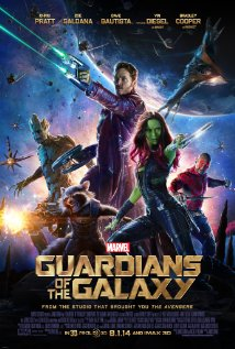Guardians of the Galaxy 2014 Cover