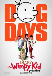 Diary of a Wimpy Kid: Dog Days 2012 Cover