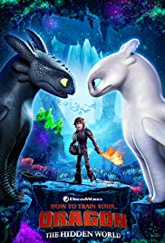 How to Train Your Dragon: The Hidden World 2019 Cover
