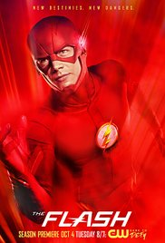 The Flash 2014 Cover