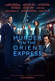 Murder on the Orient Express 2017 Cover