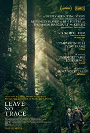 Leave No Trace 2018 Cover