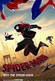 Spider-Man: Into the Spider-Verse 2018 Cover