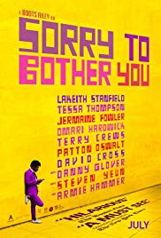 Sorry to Bother You 2018 Cover