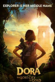 Dora and the Lost City of Gold 2019 Cover