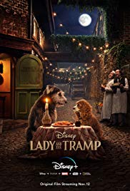 Lady and the Tramp 2019 Cover