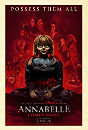 Annabelle Comes Home 2019 Cover